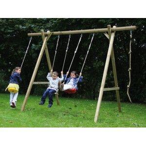 Pin de tuverano com en columpios infantiles wood for Jardin al aire libre de madera deco