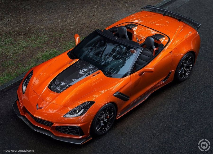 Orange Chevrolet Corvette Pictures In 2020 Corvette Zr1