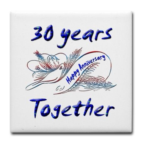 Tile Coaster July Sales Tile Coasters Happy Wedding Anniversary