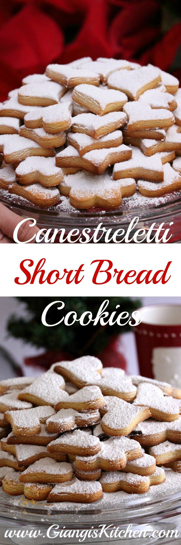 Canestreletti ~ Short Bread Cookies | Giangi's Kitchen
