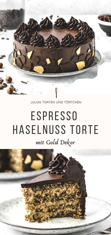Espresso Haselnuss Torte mit Video zusammen mit Gastroback