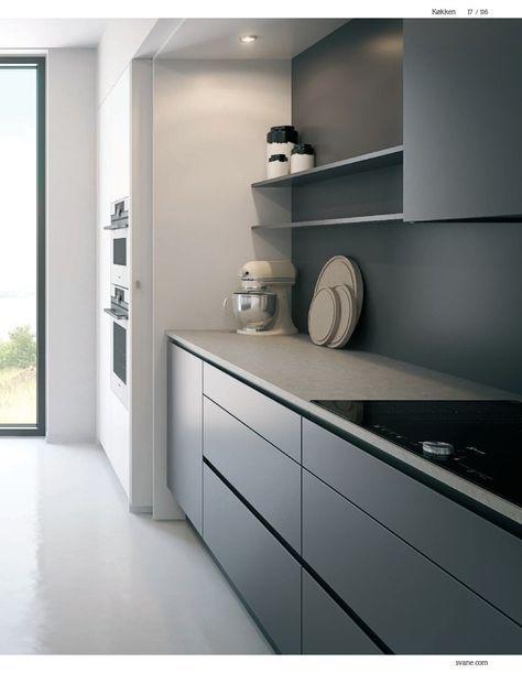 pingl par karine c sur cuisines k che moderne k che et k che esszimmer. Black Bedroom Furniture Sets. Home Design Ideas