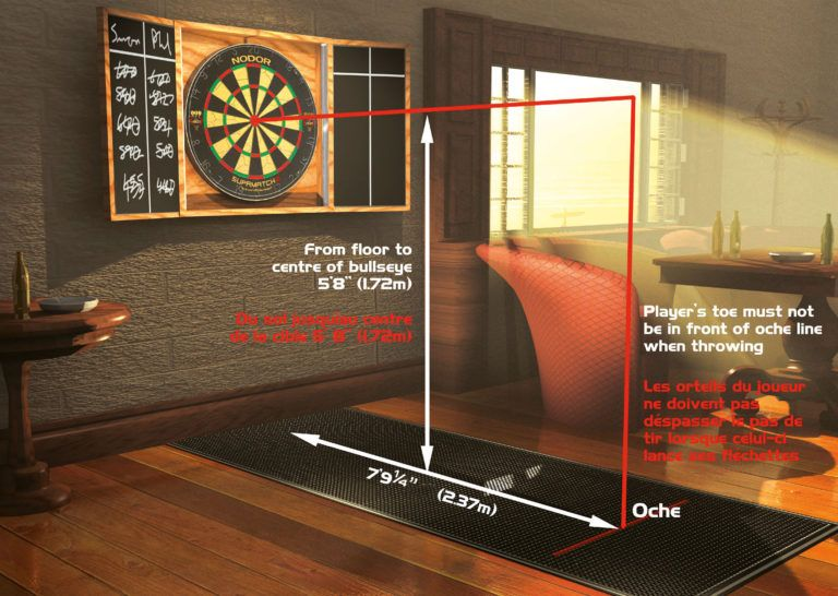 Personalised Darts 180  Design Bar Runner Pubs Club Sports Great Gift Idea
