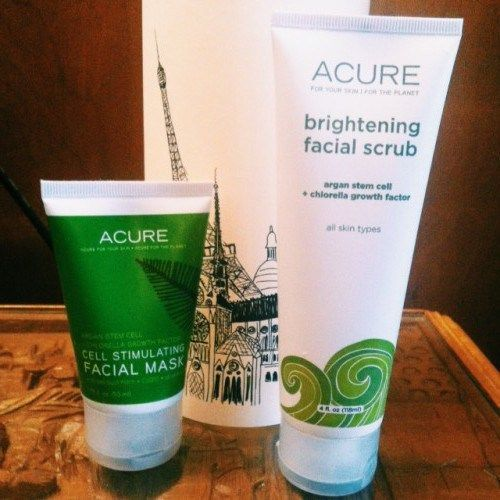 Acure Organics Brightening Facial Scrub With Sea Kelp