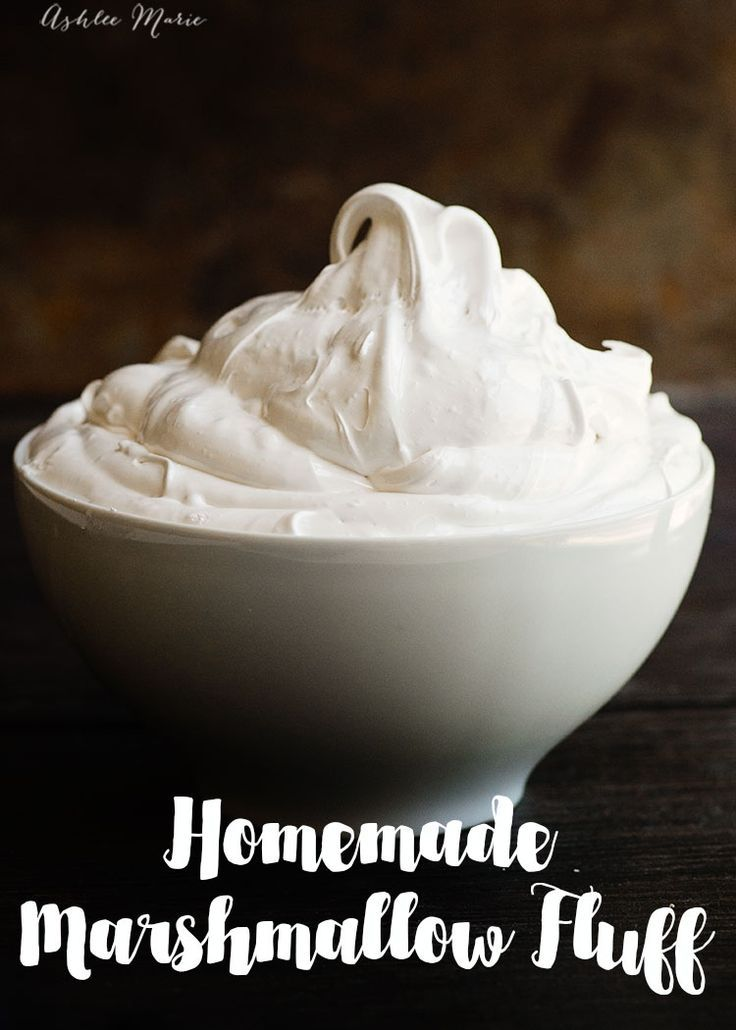 A Recipe And Video Tutorial For Making Your Own Homemade Marshmallow Fluff Homemade Marshmallow Fluff Marshmallow Fluff Recipes Marshmallow Fluff