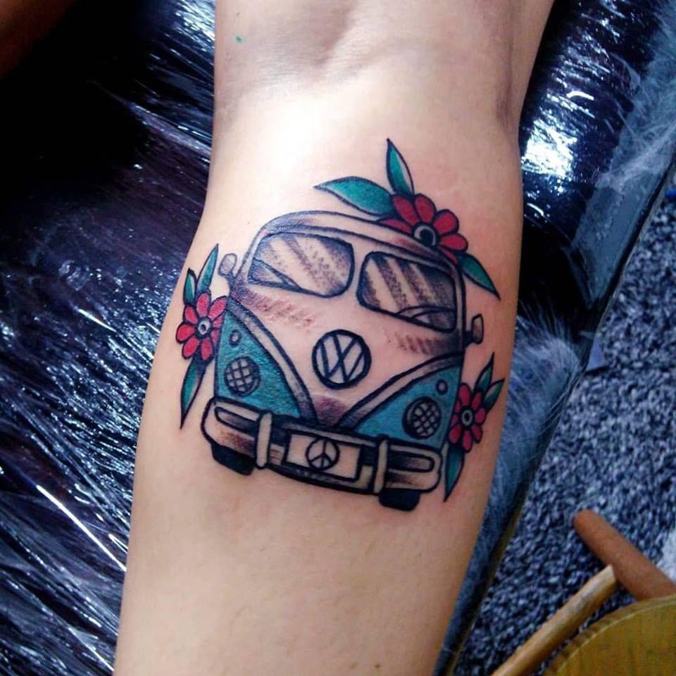 Kombi van tattoo