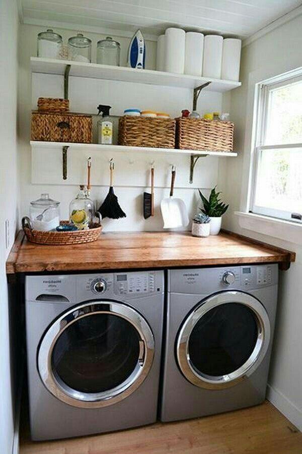Pin de Lorena E. en Home | Decoración de lavandería ...