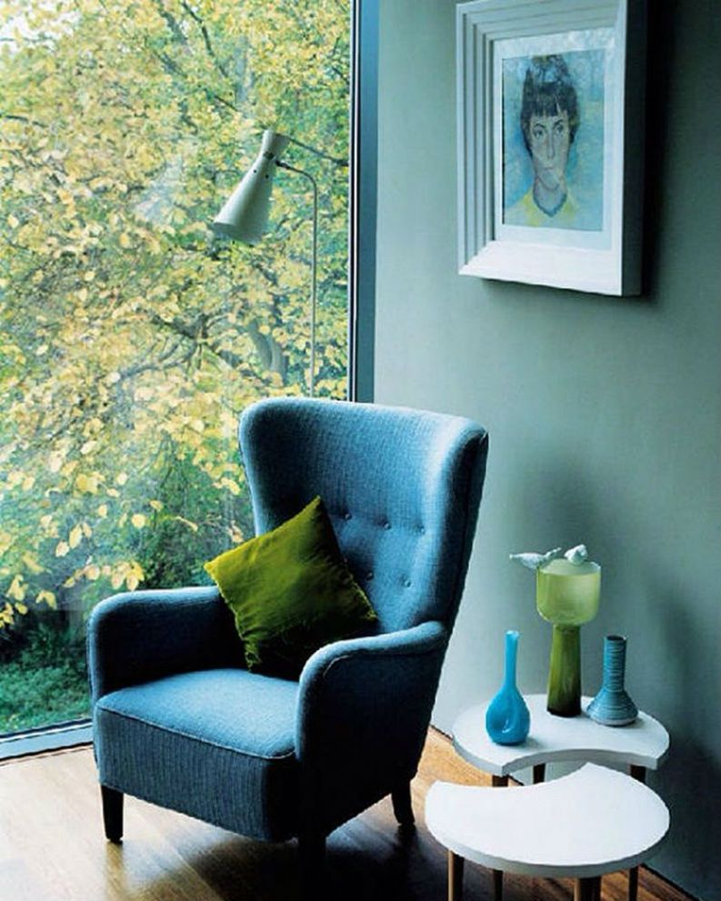 40 Amazing Interior Design Tips With Greenery Pantone Color of - wohnzimmer ideen petrol