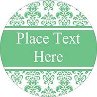Free avery templates wedding green floral toile round labels free avery templates wedding green floral toile round labels 12 per sheet pronofoot35fo Gallery