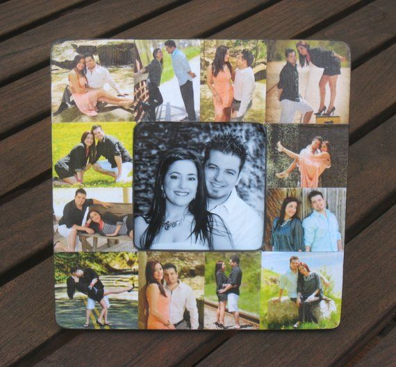 Any Name Picture Frame Create Any Word Personalised Gift3-14 Letters Multi-photo