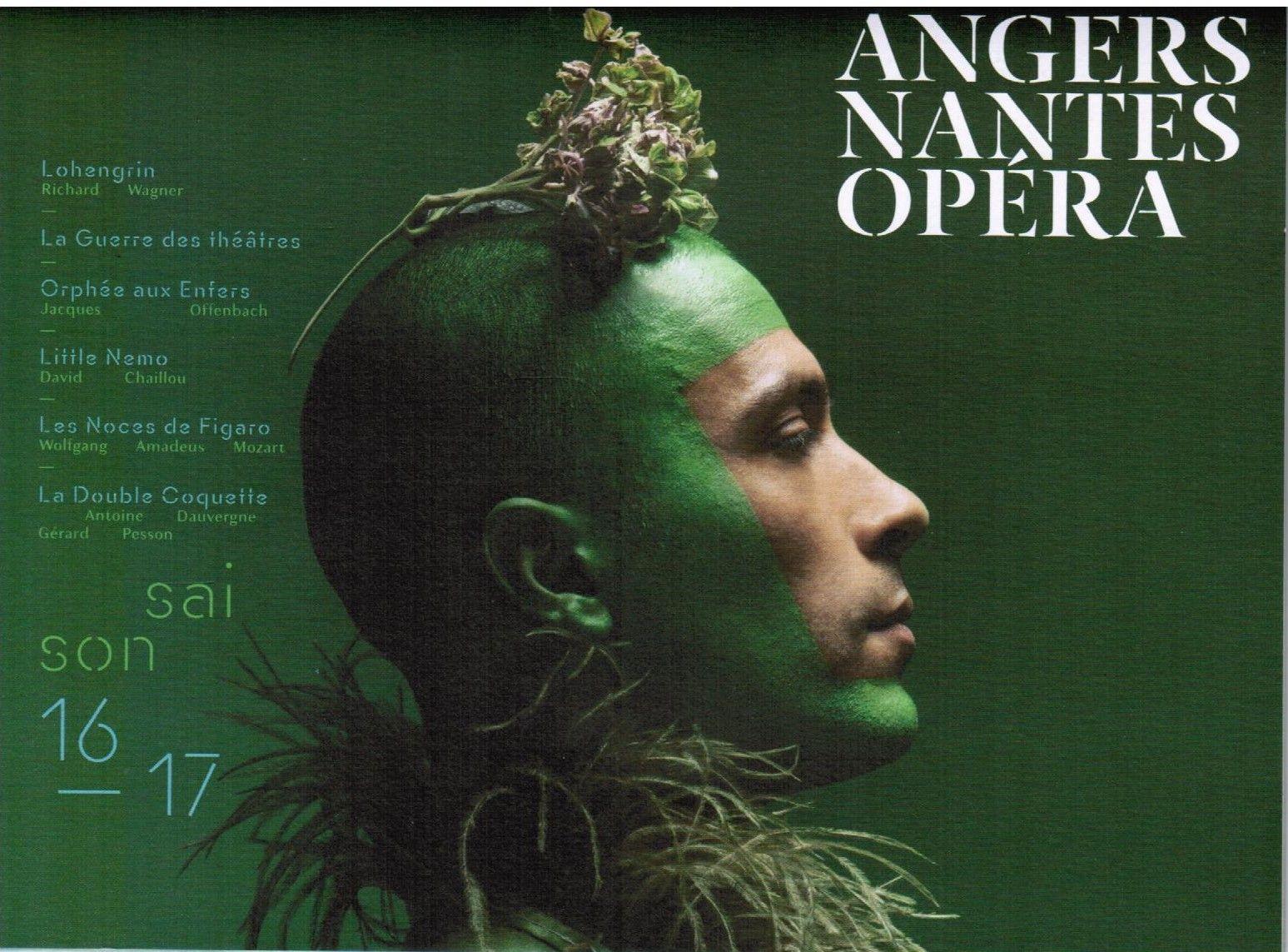 programme de la saison à l'opéra