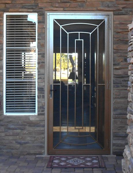 Home Security Screen Door Security Door Design Door Gate Design