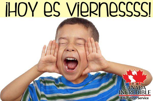 Adivina que... ¡Hoy es Viernes! Buen inicio de fin de semana.    Incredible Canada en Monterrey, Nuevo León