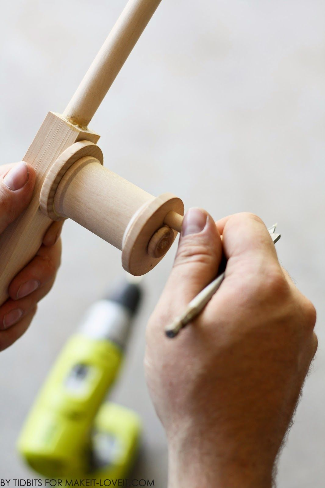 DIY Toy Fishing Pole (that Reels In)…and Magnetic Fabric