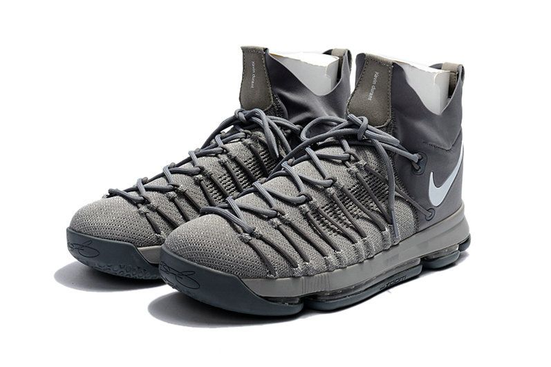 buy online 6f43d ece3d Cheap and New KD 9 IX Elite 2017 NBA Playoffs Slate Grey Dark Gray