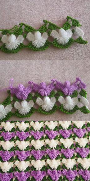 Çam Dalı Lif Modeli Anlatımlı Yapılışı #flowerpatterndesign