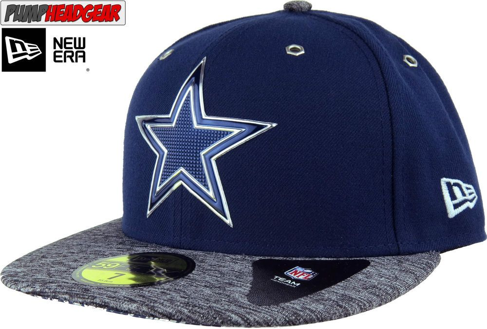 Dallas Cowboys New Era 5950 NFL Draft On Stage Cap  7a11c2ee38