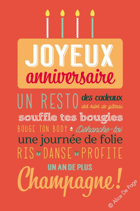 Alice De Page Editions De Mai Illustration Message Joyeux