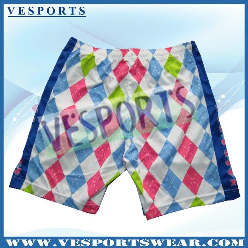 dye sublimated lacrosse shorts boys,sublimated polyester custom lacrosse shorts