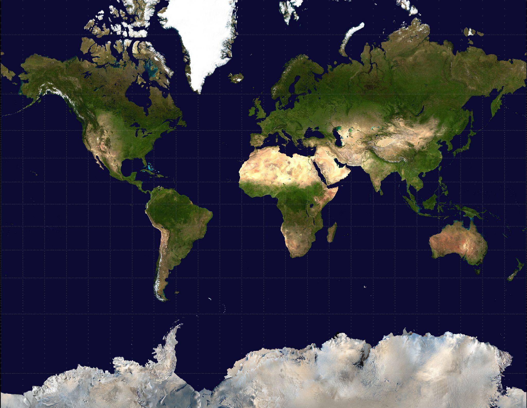 Large satellite map of the worldg 20481588 map pinterest large satellite map of the worldg 2048 gumiabroncs Choice Image