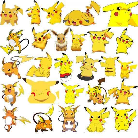 27 Pikachu And Raichu Clipart Pikachu Clipart Pokemon Clipart Pokemon Clip Art Raichu Clipart Pokemon Stickers Pokemon Pokemon Printable