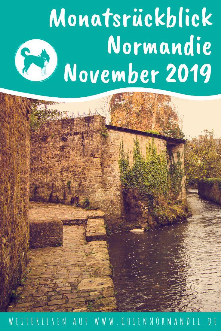 Monatsrückblick November Urlaub mit hund, Normandie und