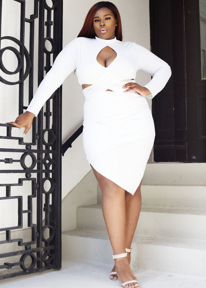 White Hot: The Pop Up Plus White Lookbook | Plus size ...