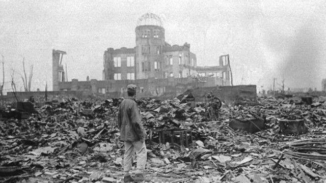 الحرب العالمية الثانية مدينة ناجازاكي اليابان Hiroshima Bombing