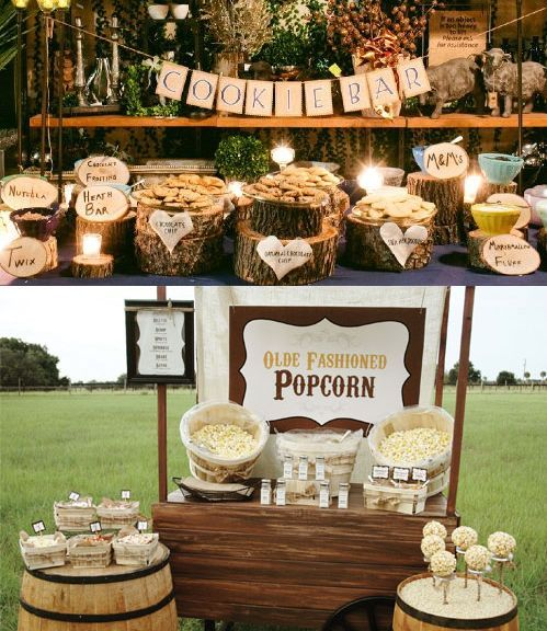 mariage champetre exterieur recherche google buffet pinterest bar popcorn bar and wedding. Black Bedroom Furniture Sets. Home Design Ideas