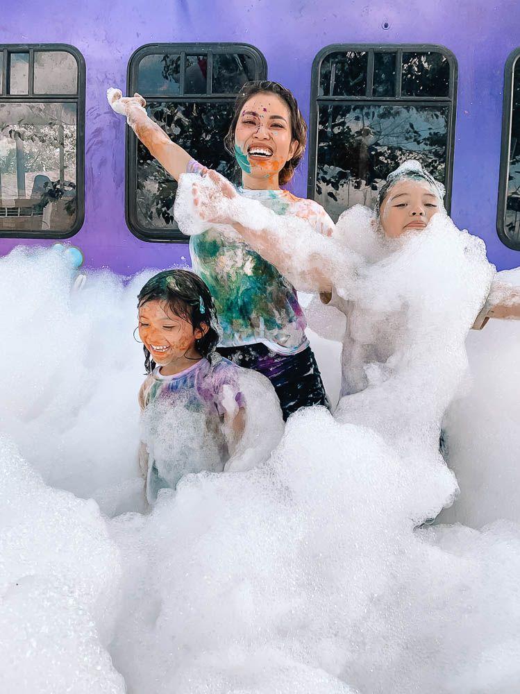 Bubble Truck Party Idea Dallas lifestyle Cute and