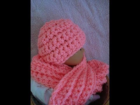 How To Crochet A Hat And Scarf Set From Sweet Potato Patterns