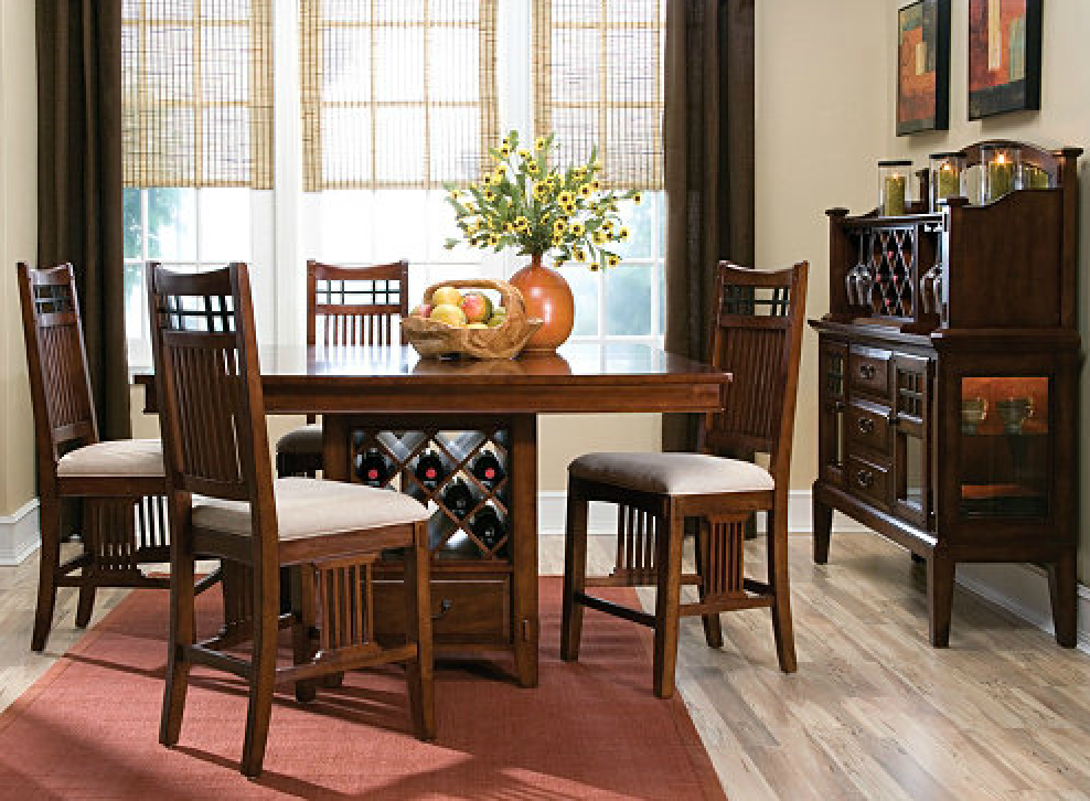 New York Smash 10 Stylish Wine Storage Solutions Vantana Counter Height Dining Table W