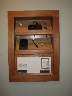 Built In Charging Station For Kitchen Or Mudroom Charging Station Cell Phone Charging Station Fine Woodworking