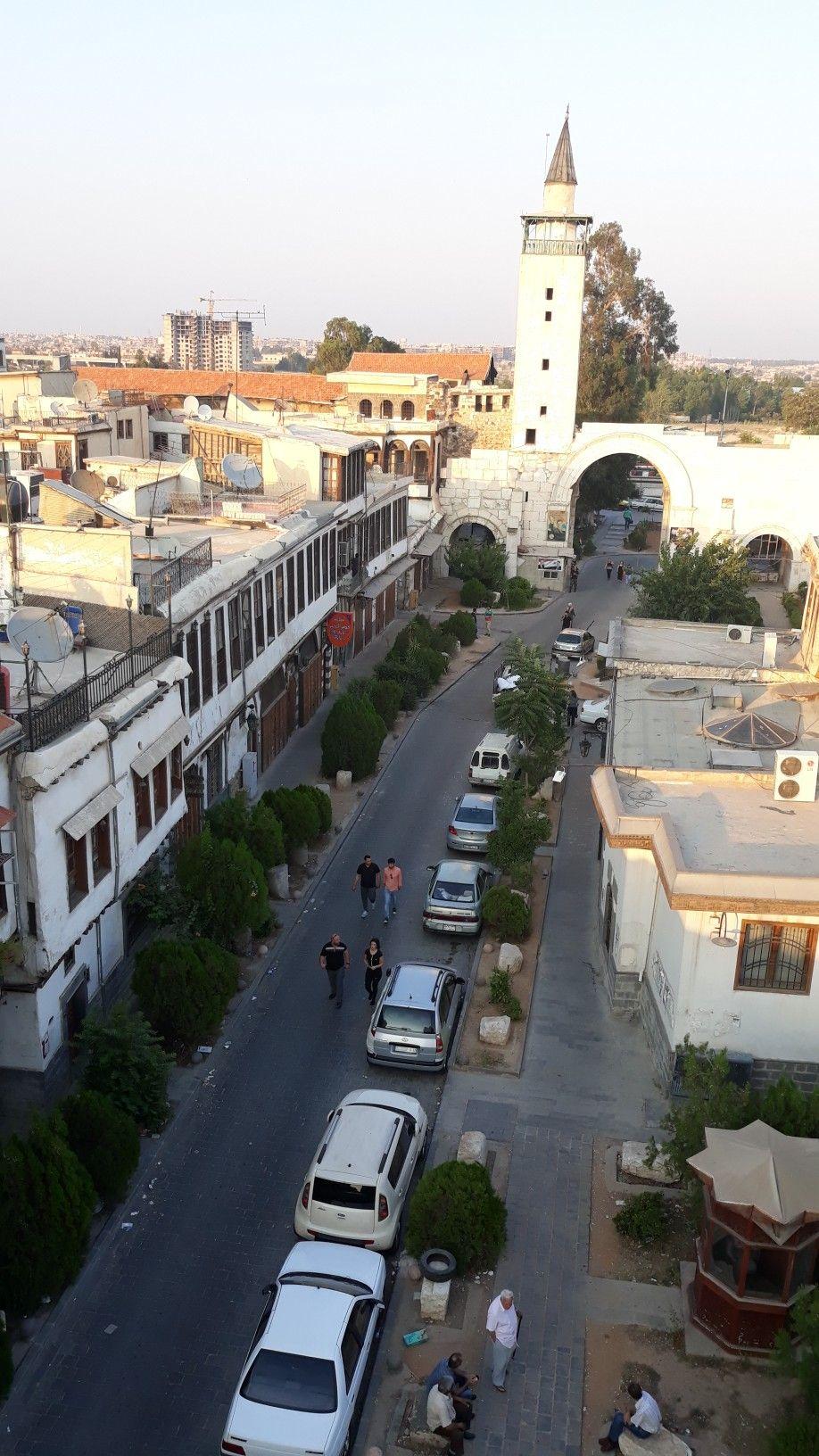 باب شرقي والشارع المستقيم ١٣ تموز ٢٠١٨ Old Damascuse In 2018