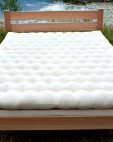 Wool Mattress Made In Usa From Pure Durable All Natural Wool Wool Mattress Mattress Natural Mattress