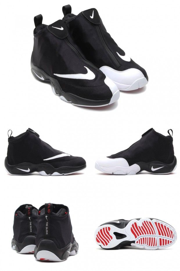 "ed99fc7873cac Nike Air Zoom Flight 98 ""The Glove"" Black White-University Red ..."