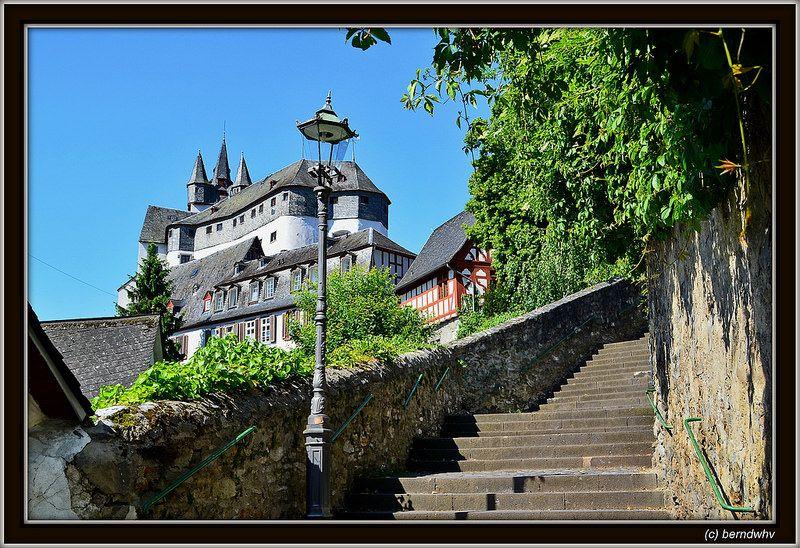Burg Grafenschloss in Diez / Rheinland-Pfalz