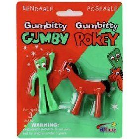 Pin By Sanandco On Stocking Stuffer Ideas Gumby Pokey Vintage