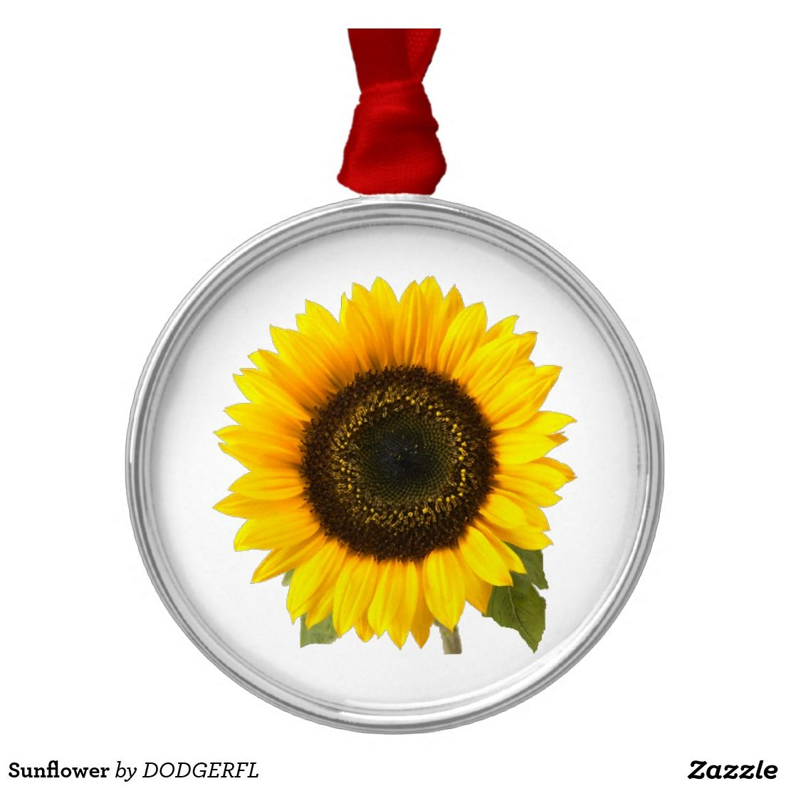 Sunflower Metal Ornament Sunflower, Ornaments