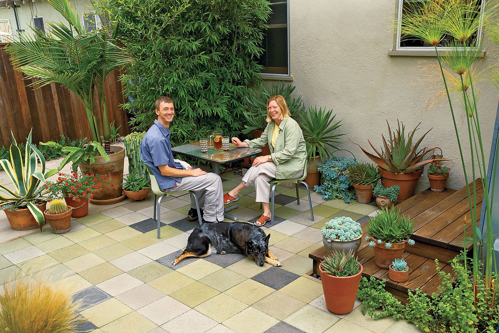 This Cheap Patio Plan Is Stylish And Easy To Build. Dig It, Stain It