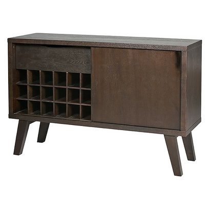 I love the simple, practical design of this sideboard from Urban Barn.  It has a vintage Mad Men feel and it's a great price at $399.