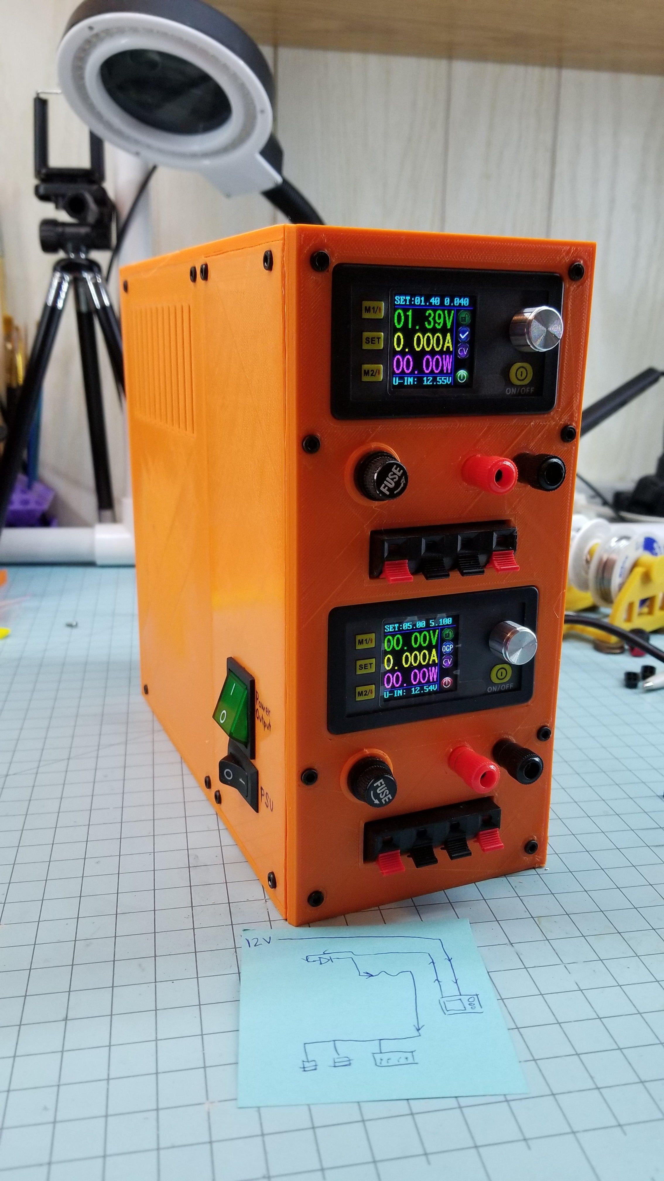 Another Atx Bench Power Supply By Kickbut101 In 2020 Electronics Projects Diy Electronics Projects Power Supply