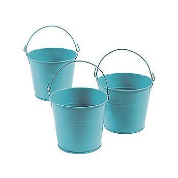 Blue Tinplate Pails Tin Pails Pail Pail Bucket