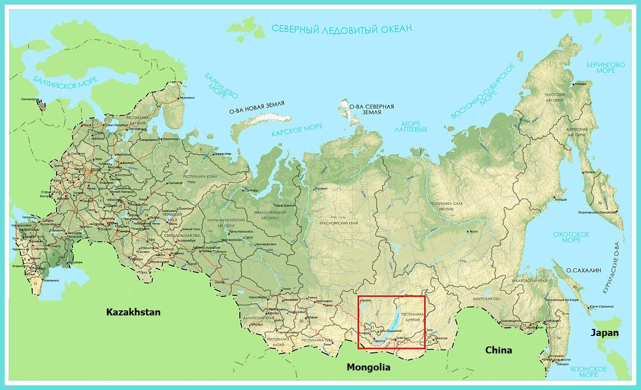 Transsibiřsk 225 Magistr 225 La Irkutsk Bajkal