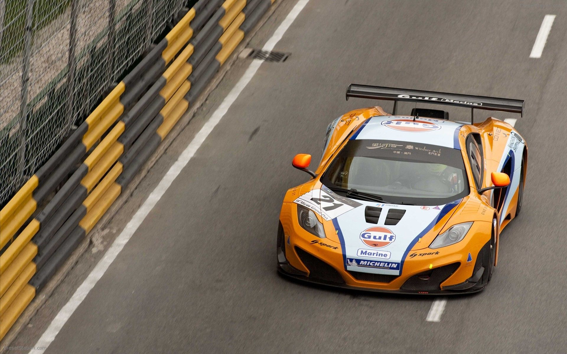 McLaren MP4 12C GT3 in Macau 2011 | Trucks | Pinterest | Mp4 12c ...
