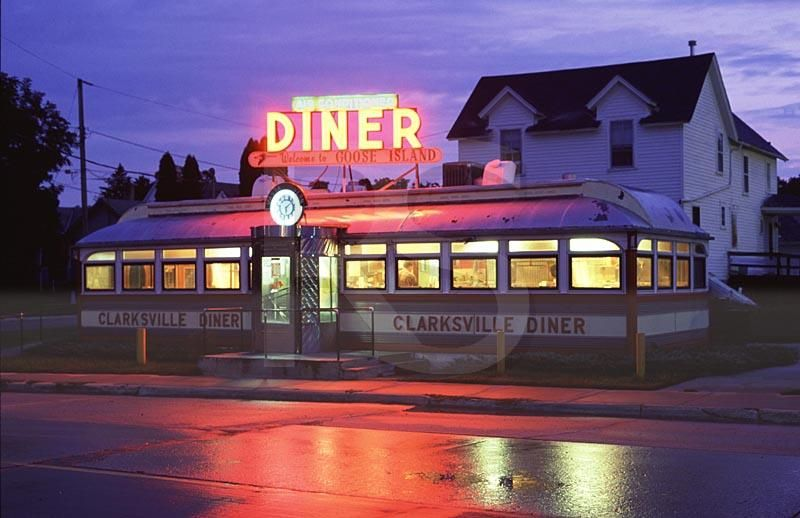 50 39 s american diner diners and road trips For50 S Diner Exterior