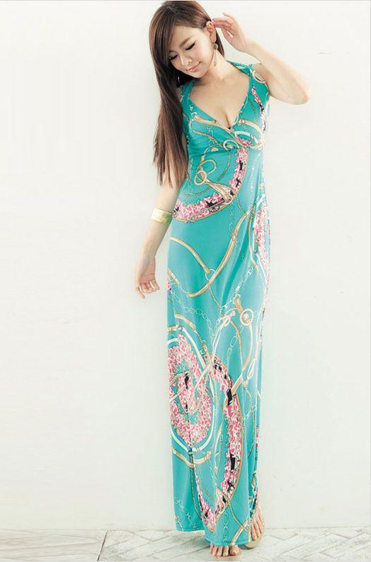 Maxi dress malaysia murah