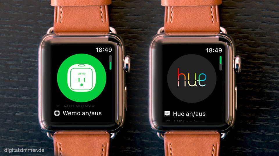 Mit der Apple Watch das Smarthome steuern Apple