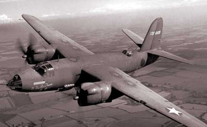 Martin B-36 Marauder.