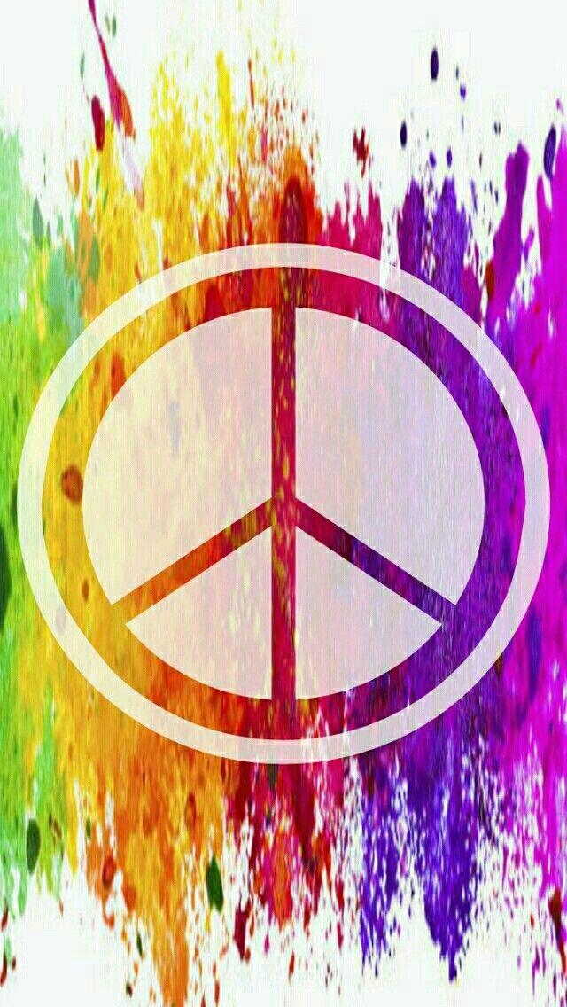 Pin On Art Peace Sign Free peace sign screensavers wallpaper